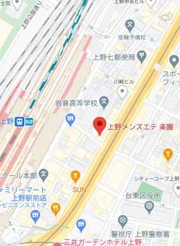 上野楽園地図